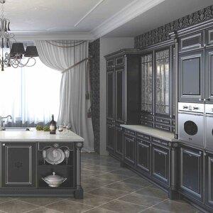 Кухни на заказ Афина Неро