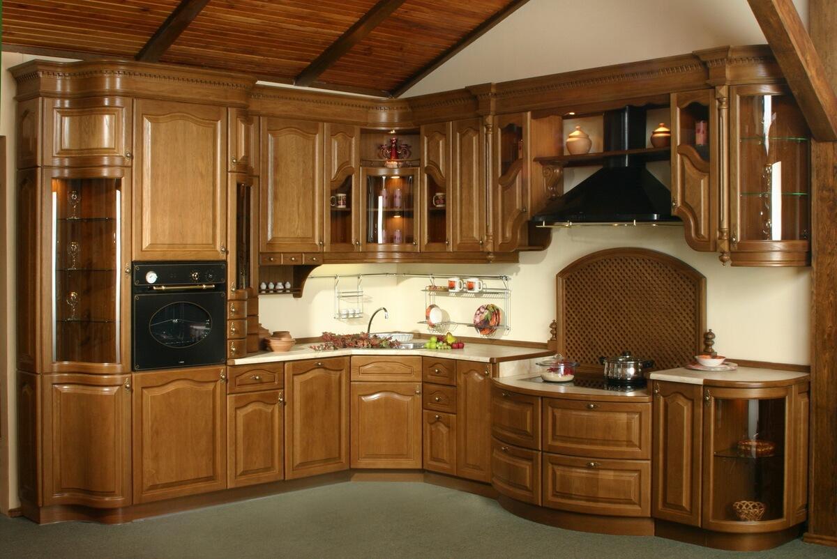 Кухни из массива дерева в севастополе на заказ +7(978) 079-5.